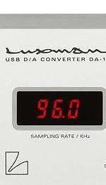 LUXMAX(ラックスマン) USB対応D/Aコンバーター DA-100