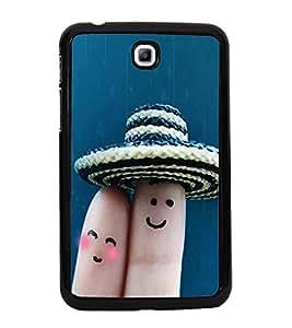 Finger Art 2D Hard Polycarbonate Designer Back Case Cover for Samsung Galaxy Tab 3 :: Samsung Galaxy Tab 2 P3200