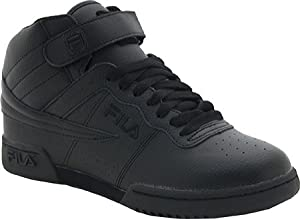 Fila Men's F-13 Sneaker,Triple Black,7 M US