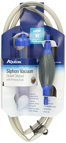 Aqueon 06232 Siphon Vacuum Aquarium Gravel Cleaner with ...