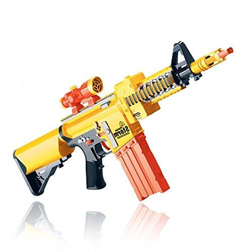 MTS - Fucile Photon Storm, pistola giocattolo semiautomatica con lanciatore, dotata di 20 proiettili morbidi