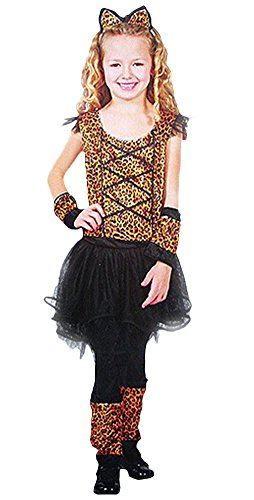 Ace Halloween Children's Kids Girls Leopard Cat Costumes