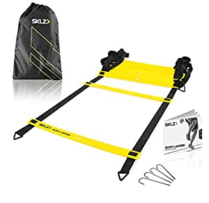 SKLZ Quick Flat Rung Agility Ladder with Free SKLZ Carry Bag