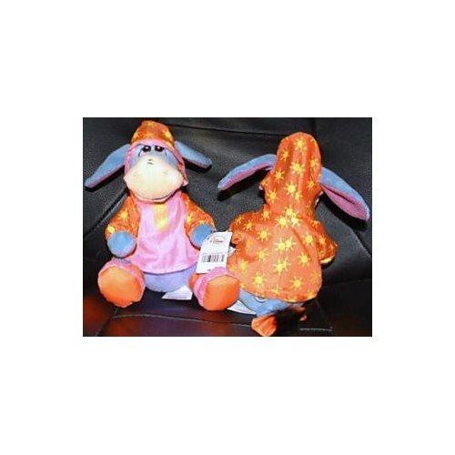 Disney Winnie the Pooh, Rain Coat Eeyore Bean Bag Doll Toy
