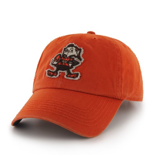 NFL Cleveland Browns Men's Barton Cap, One Size, Orange at Amazon.com