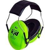 Peltor Kids Ear Defenders - Neon Green