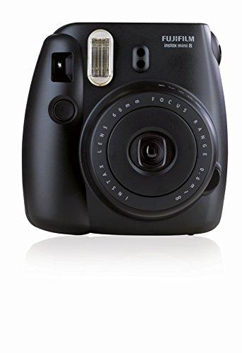 Fujifilm Instax Mini 8 Fotocamera Istantanea per Stampe Formato 62x46 mm, Nero