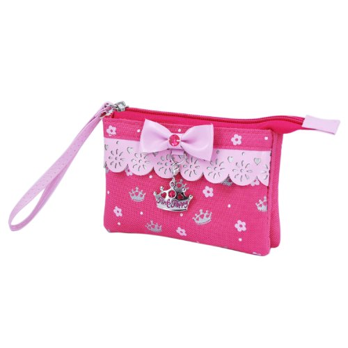Pink Poppy Sweetness And Charms Wristlet (Hot Pink)