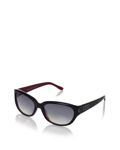 Kate Spade Women's Sunglasses, Navy/Red, One Size