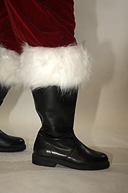 Wide Calf Professional Santa Boots (Large) [Apparel]