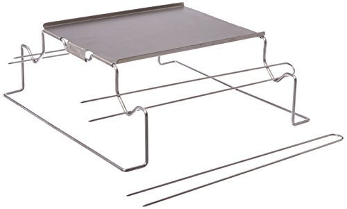 Charcoal Companion Stainless Steel S'mores Grill Rack CC 3131