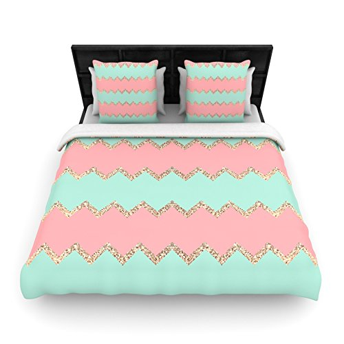 Coral Duvet Cover Queen front-1034788
