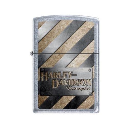 Zippo Harley Davidson Motorcycles Logo Street Chrome Lighter, 8524