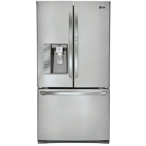 lg lfx31945 super capacity 3-door french door refrigerator…
