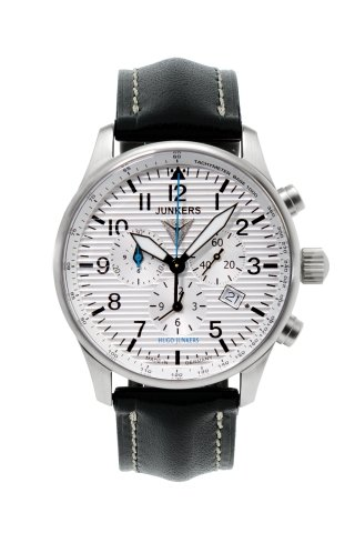 Junkers Chrono-Alarm Mens Chronograph Made in Germany