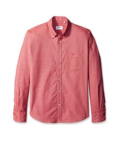 Brooklyn Tailors Men's Brushed Oxford Slim Fit Sport Shirt