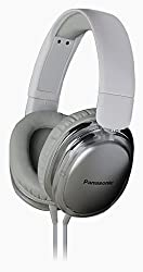 Panasonic RP-HX350ME White Over-Ear Headphones w/Mic for iPod/MP3player/Mobiles