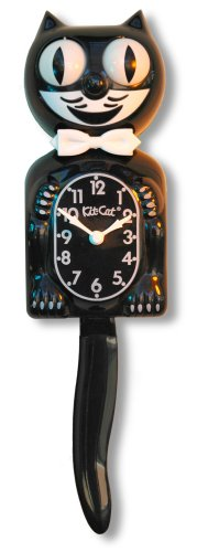 Classic Black Kit-Cat Clock