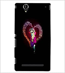 PrintDhaba Coloured Pencils D-2719 Back Case Cover for SONY XPERIA T2 ULTRA (Multi-Coloured)