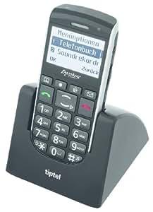 Dualband-Handy Ergophone 6040 Schwarz (import Allemagne)