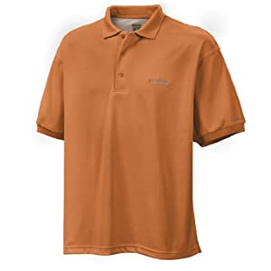 Columbia Sportswear Men's Big-Tall Perfect Cast Polo Shirt, Orange Blast, 4XT