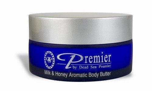 Premier Dead Sea Aromatic Body Butter- Milkand Honey Scent
