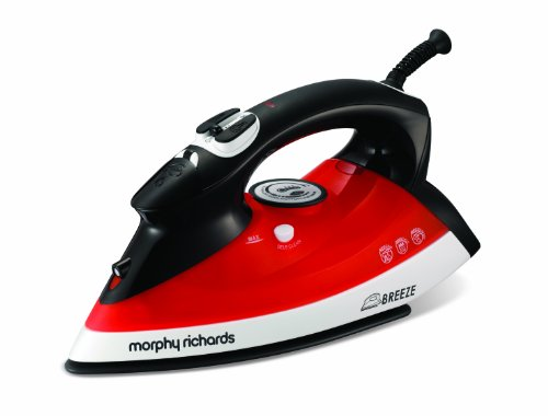 Morphy Richards Breeze 300203 Iron with Auto Shut Off 300 ml 2.2 KW - Black/Red