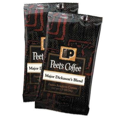 """Peet'S Coffee & Tea - Coffee Portion Packs Major Dickason'S Blend 2.5 Oz Frack Pack 18/Box """"Product Category: Breakroom And Janitorial/Beverages & Snack Foods"""""""