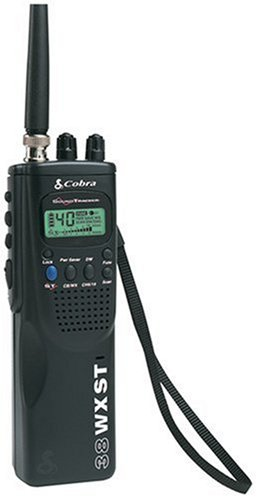 Cobra HH 38 WX ST 4-Mile 40-Channel CB Radio