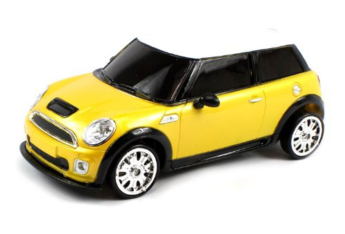 Electric Full Function 1:18 Mini Cooper S RTR RC Drift Car Remote Control w/ rechargeable Batteries (Colors May Vary)
