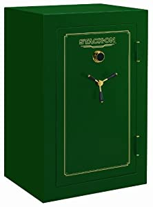 Stack-On FS-36-MG-C 36-Gun Fire Resistant Safe with Combination Lock, Matte Hunter... by STACK-ON