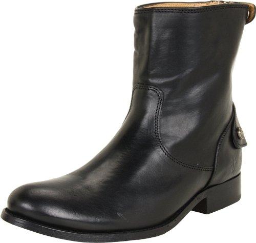frye-melissa-button-zip-short-boot-damen-us-85-schwarz