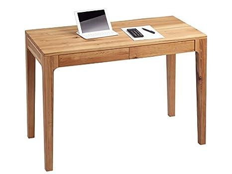 Schreibtisch Kona Wildeiche massiv geölt