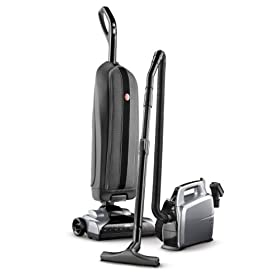 Hoover Platinum Lightweight Upright Vacuum with Canister, Bagged, UH30010COM