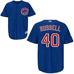 Buy James Russell Chicago Cubs Alternate Royal Authentic Jersey by Majestic by Majestic