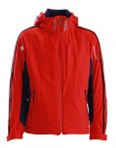 Buy Descente D4-8618 Soelden Jacket Electric Red Medium by Descente
