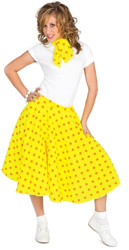 50's Sock Hop Adult Costume - One Size