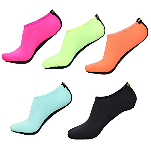 BBA Water Skin Shoes Aqua Socks for Beach Swim Surf Yoga Exercise