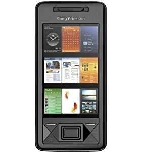 Sony Ericsson Xperia X1 Solid Black (GPS, WLAN, Touch Screen) Smartphone ohne Branding