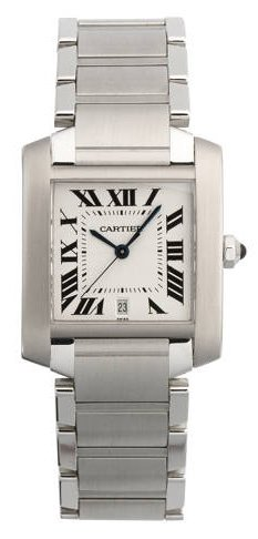 Cartier Men's W51002Q3 Tank Francaise Automatic Watch