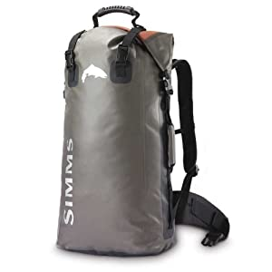 Simms dry creek guide backpack sterling for Fishing backpack amazon