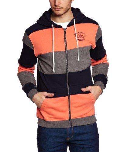 Selected Homme Jeans Rainer Zip Hood C Men's Sweatshirt Soft Coral Small