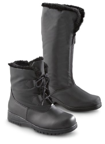 TOTES WO'S WP GHILLIE BOOT, BLACK, 9M