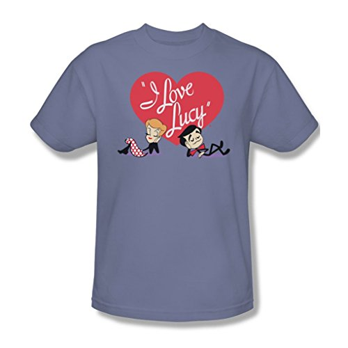 I Love Lucy - Content Adult T-Shirt In Lilac, XX-Large, Lilac