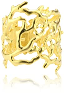 Kenneth Jay Lane Gold-Tone Branch Cuff Bracelet