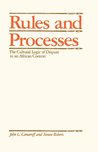 Rules and Processes: The Cultural Logic of Dispute in an...