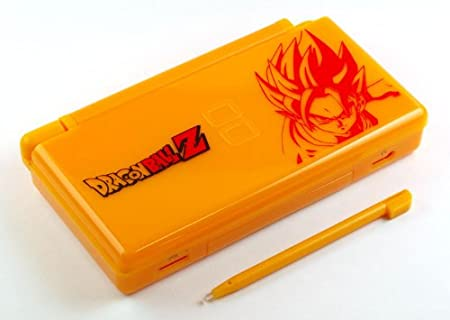 Dragon Ball Z - Nintendo DS Lite Complete Full Housing Shell Case Replacement Repair w/ Hinge Set