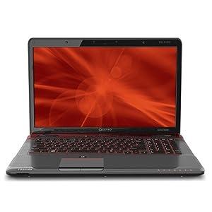 TOSHIBA Qosmio X775 Series Notebook (Intel Core i7 second generation i7-2820QM Quad Processor - 2.30GHz with TURBO BOOST to 3.40GHz, 8 GB RAM, 2 TB Hard Drive 2000GB, BLU-RAY drive, harman/kardon AUDIO, 17.3-inch WIDESCREEN TruBrite display, Windows 7 64-bit) DESKTOP REPLACEMENT Laptop PC