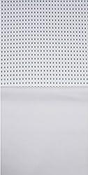 Grasim Men's Cotton Shirt and Trousers Fabrics (21, White and White)