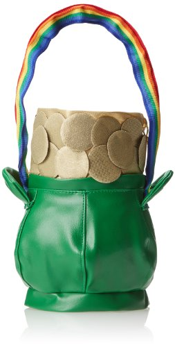 Rasta Imposta Pot Of Gold Handbag, Green, One Size